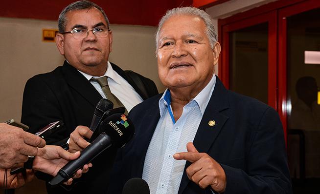 Sánchez Cerén: seguiremos apoyando a Cuba en su lucha contra el bloqueo