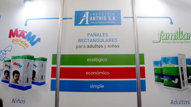 Stand de la firma mixta cubano-italiana Industria Arthis S.A, durante su participación en la XXVI Feria Internacional de La Habana FIHAV 2018, en el recinto Ferial Expocuba, el 29 de octubre de 2018.