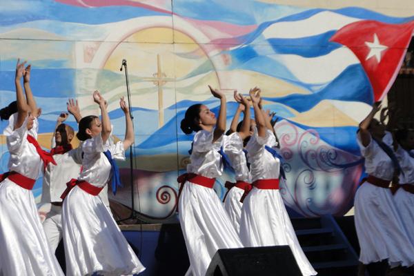 Cubanness Festival starts next Thursday.