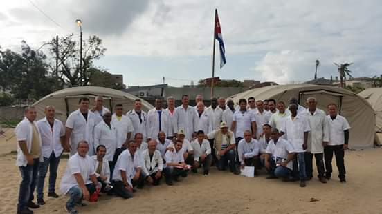 Cuban doctors have treated thousands of Mozambique hurricane victims