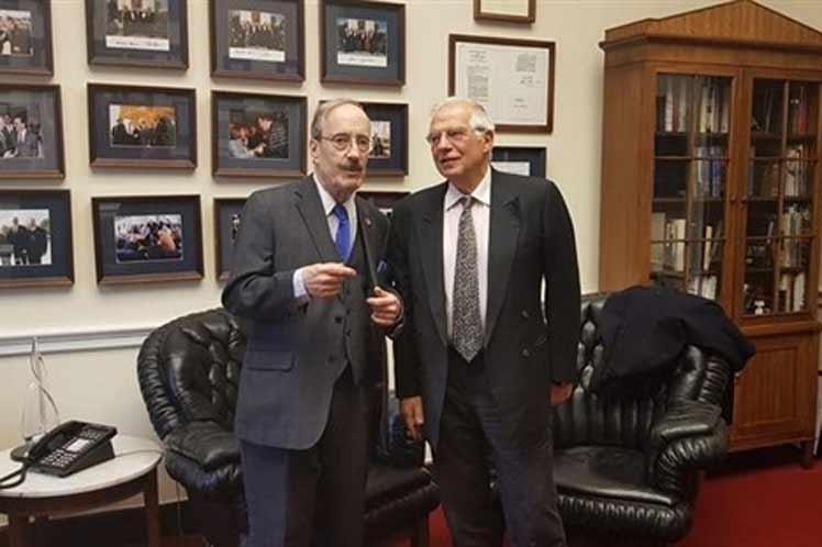 El  canciller español Josep Borrell manifestó hoy a Estados Unidos la preocupación de su Gobierno y de la Unión Europea (UE) ante un recrudecimiento de las sanciones económicas norteamericanas contra Cuba.