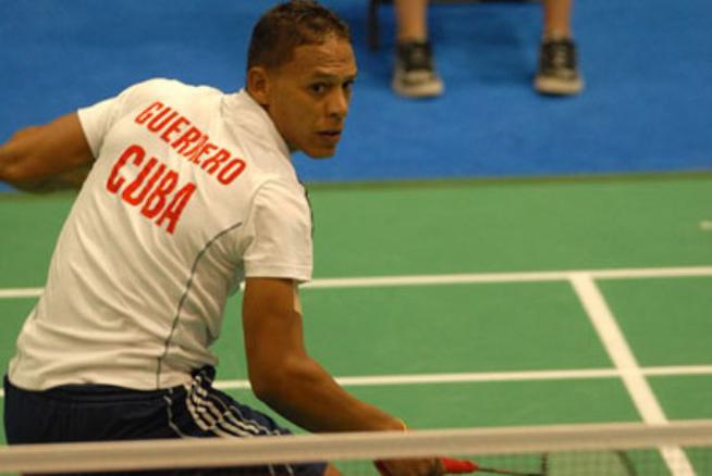 Cubano Osleni Guerrero competirá en el VI Torneo Internacional de Bádminton de Jamaica