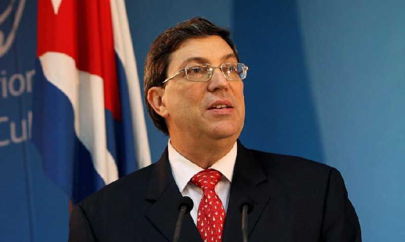 Denuncia Canciller cubano agresiva política exterior del gobierno de Estados Unidos (+ Tuit)