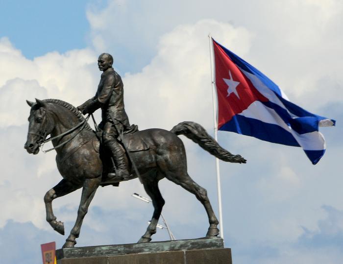 Homenaje al patriota cubano Calixto García en el aniversario 180 de su natalicio