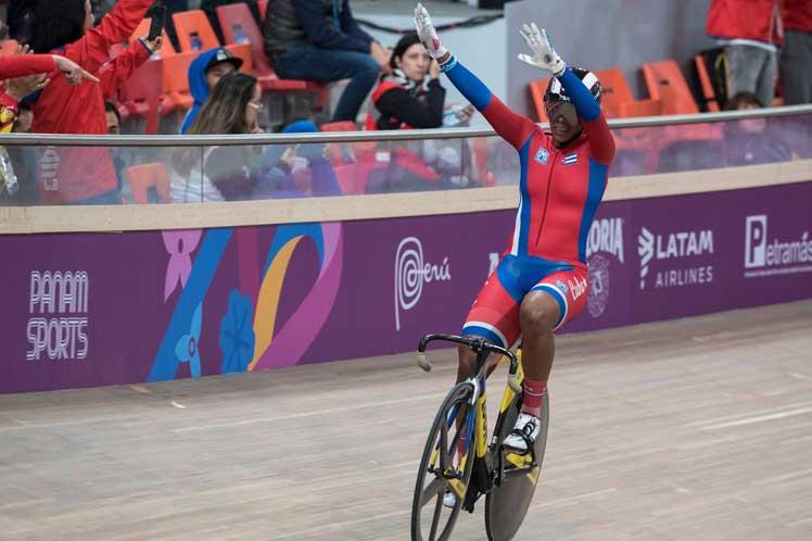 Cubana Lisandra Guerra en quinto lugar de prueba panamericana de velocidad
