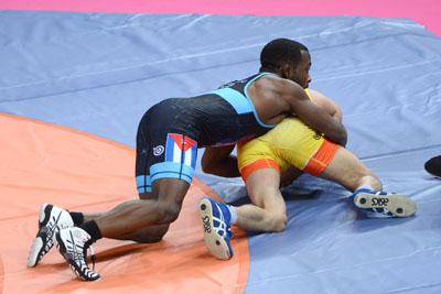 Gana cubano Reineri Andreu oro en Campeonato Mundial de Lucha sub 23