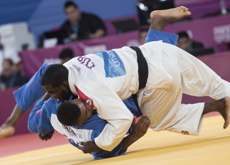 Tres cubanos por bronce en Grand Slam de Judo de París