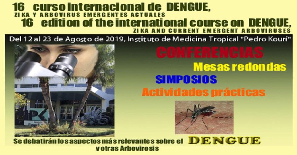 Concluye hoy en Cuba Curso Internacional sobre Dengue