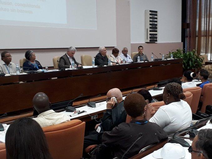 Asiste Díaz-Canel a inauguración del VIII Congreso de la Asociación Nacional del Ciego