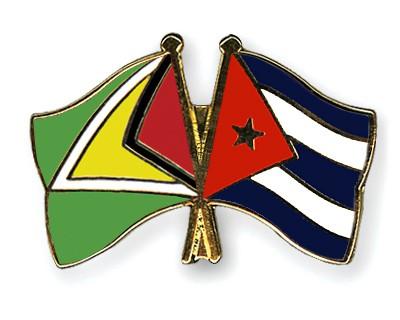Visitó Díaz-Canel en La Habana al presidente de Guyana