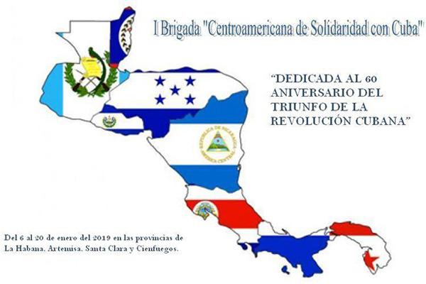 First Central American Solidarity Brigade arrives in Cuba