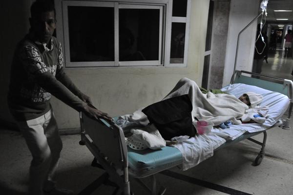 evacuación pacientes del Clínico Quirúrgico Docente Miguel Enríquez, de La Habana