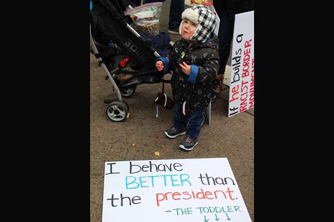 Decenas de miles de personas marcharon en Washington y otras ciudades estadounidenses en defensa de los derechos de las mujeres y la denuncia de fenómenos como la violencia, la desigualdad de salarios y la discriminación