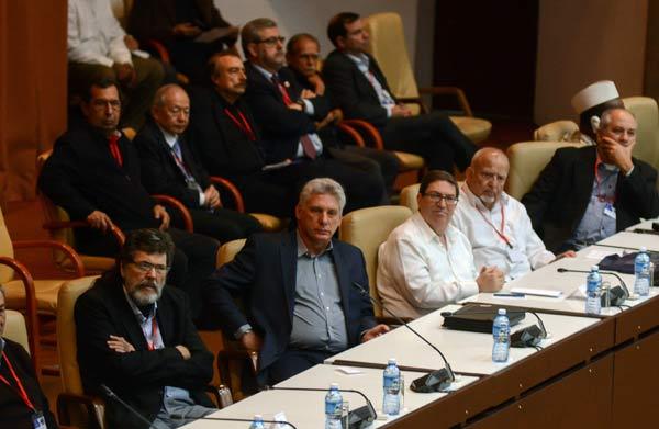 Díaz Canel assiste à l'inauguration de la 4e Conférence internationale Pour l'équilibre du monde