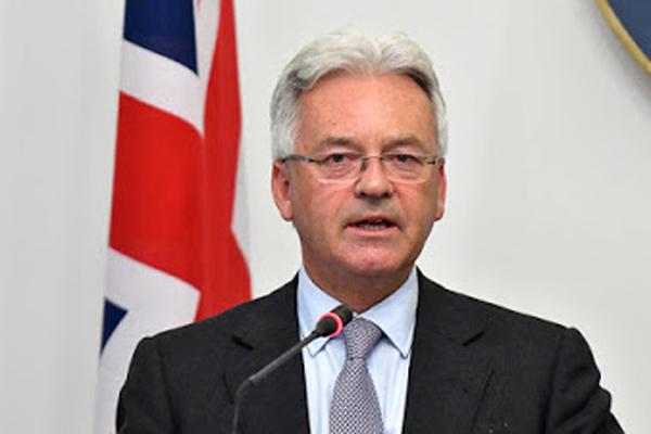 Le Royaume-Uni réitère son rejet au blocus des Etats-Unis contre Cuba