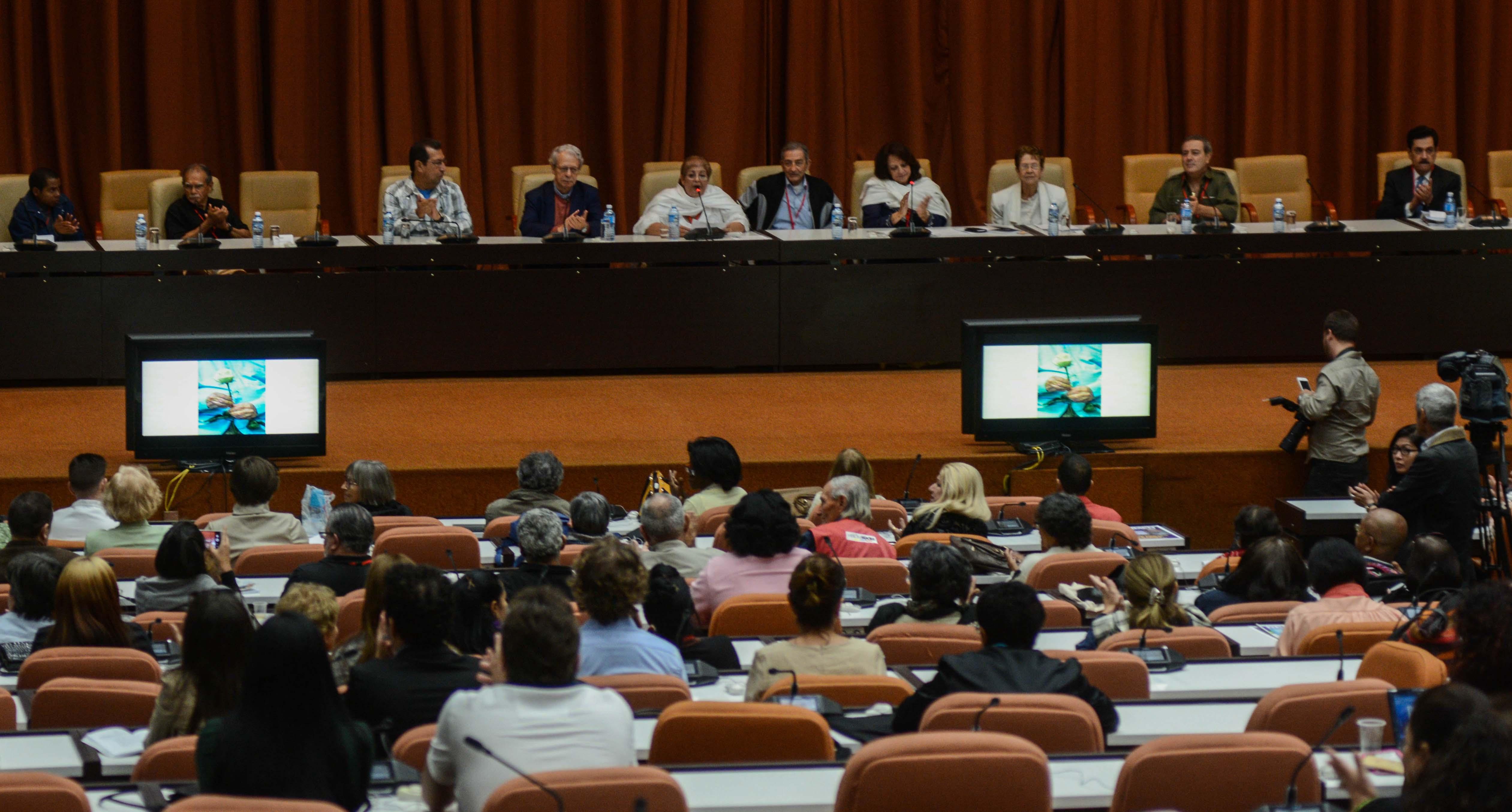 Concluye lV Conferencia Internacional Por el Equilibrio del Mundo