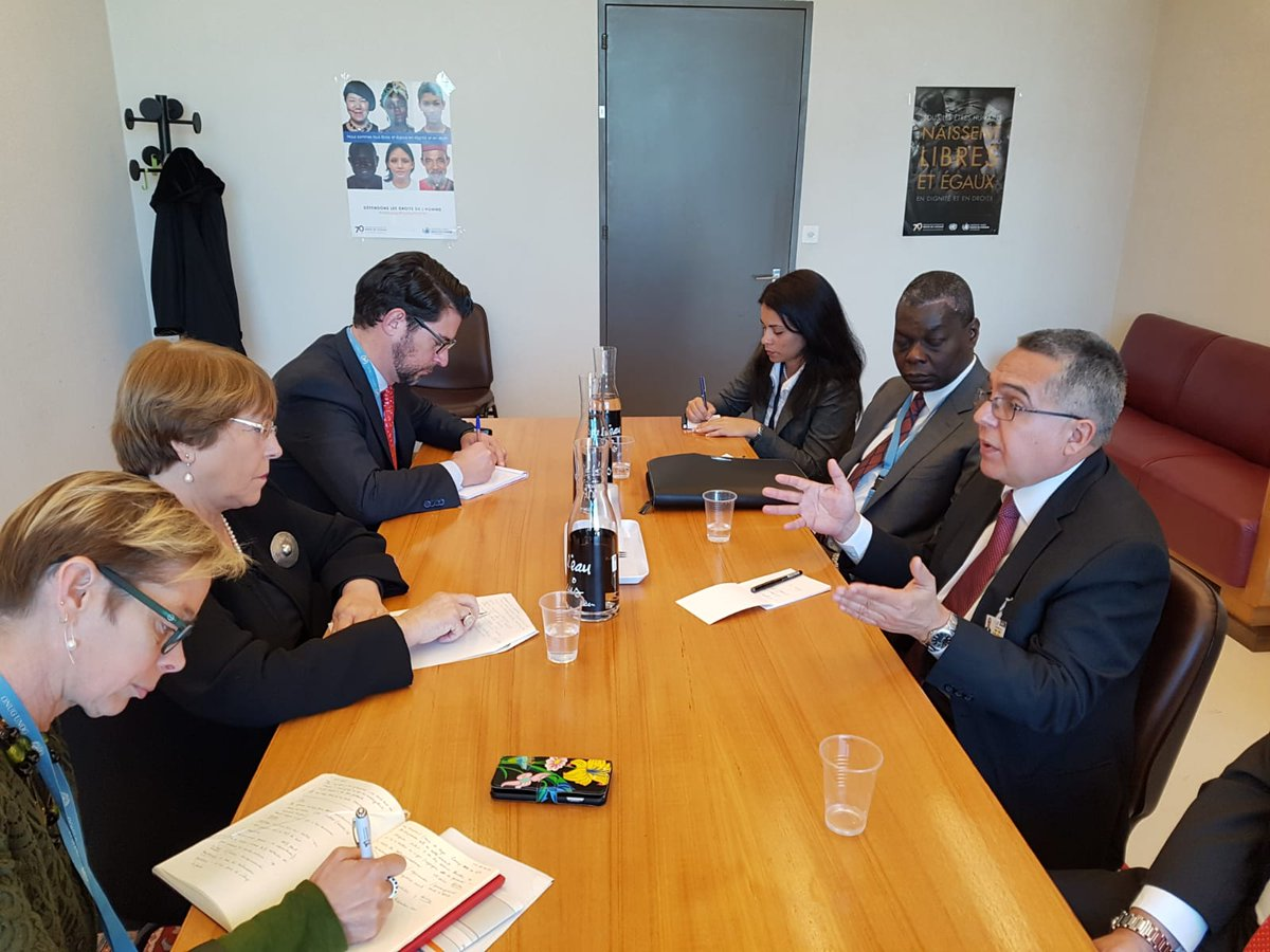 Cuban deputy FM develops intense working agenda in Geneva