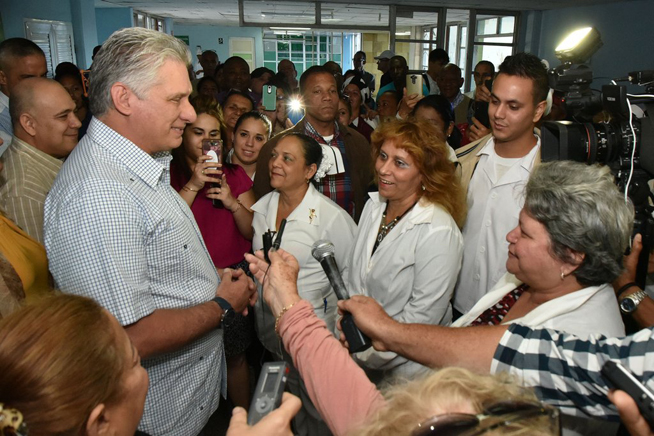 Cuban people can overcome anything thanks to its unity, says Diaz-Canel