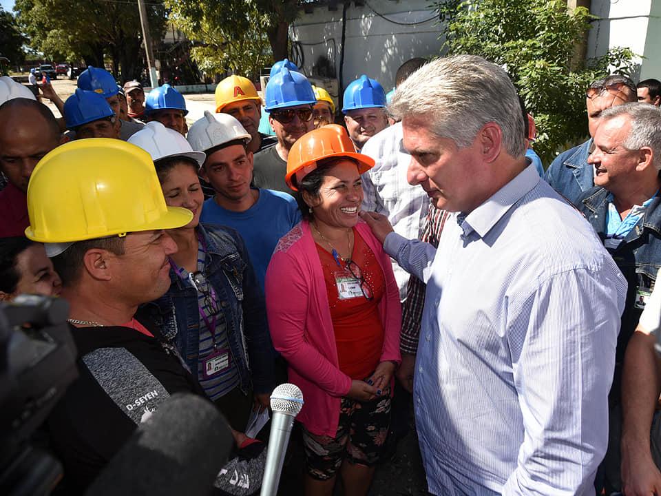 Desarrolla Díaz-Canel intenso programa en visita gubernamental a Las Tunas (+Fotos)