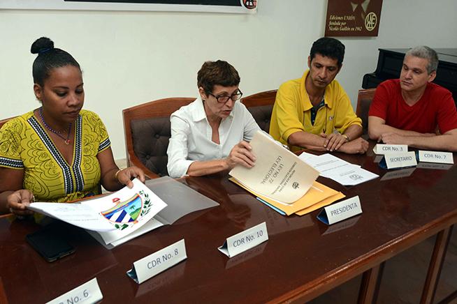 Colegio Electoral número 35_2, Circunscripción 35 del municipio Plaza, durante la jornada de la prueba dinámica para engranar definitivamente todos los componentes del sistema, previa al referendo constitucional el próximo 24 de febrero, La Habana, Cuba, el 17 de febrero de 2019.