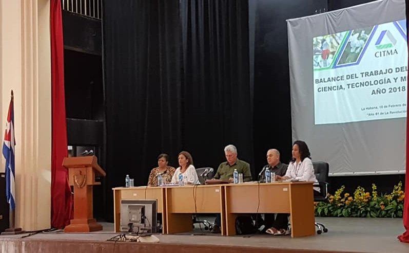 Díaz Canel subrayó rol de la ciencia en la solución de los problemas del país