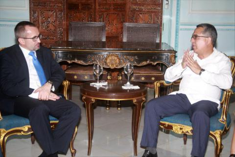 Fortalecen cancillerías de Cuba y Rusia vínculos bilaterales