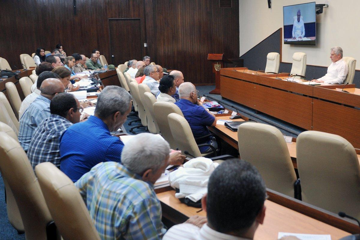 Díaz-Canel: Que no se pierda el ritmo en la recuperación de La Habana