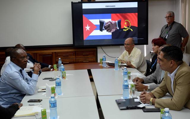 Angola muestra interés en ampliar colaboración con Cuba en Salud