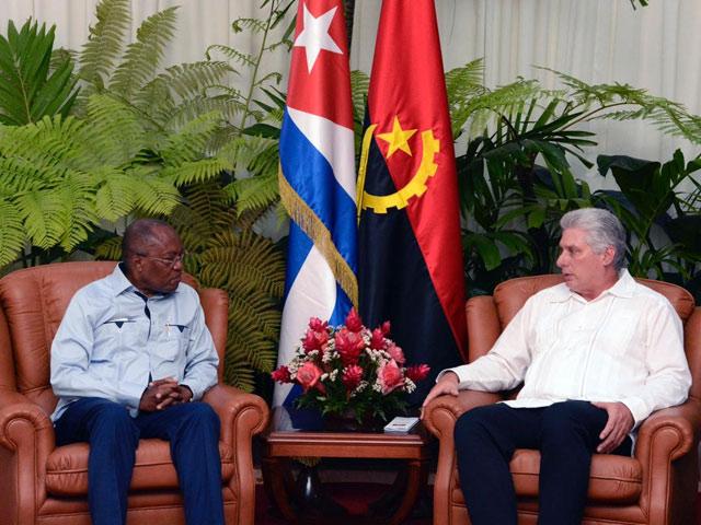 Díaz-Canel a reçu le Chancelier angolais