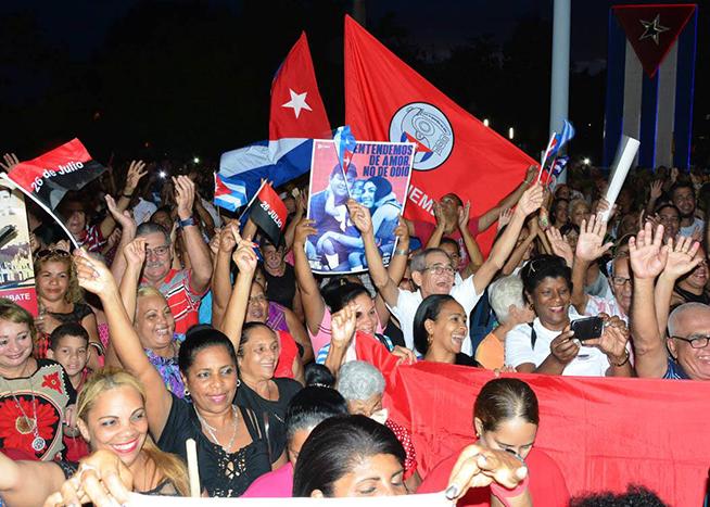 Granma : siège de l'acte central par le Jour de la Rébellion nationale