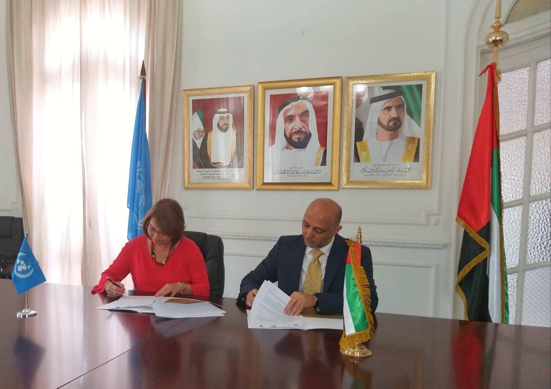 PNUD y Emiratos Árabes Unidos apoyarán en Cuba recuperación de viviendas y cosecha de agua