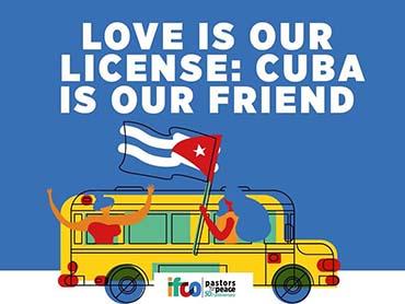 Presidente cubano da la bienvenida a la 30 Caravana de Pastores por la Paz
