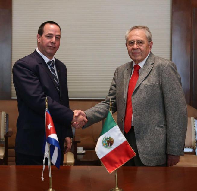 Ratifica Cuba voluntad de cooperación con México en materia de salud