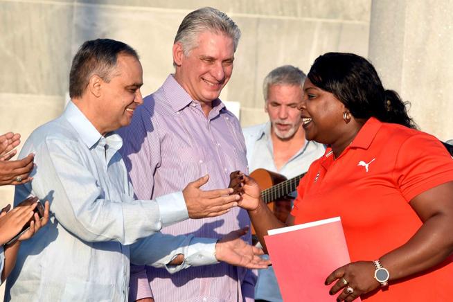 Aseguró Díaz-Canel que delegación cubana a Panamericanos de Lima regalará alegrías al pueblo
