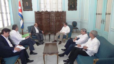 Le Chancelier cubain reçoit le Directeur général de la FAO