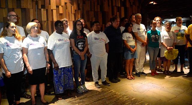 Pastores por la Paz visitan Memorial Che Guevara en el centro de Cuba