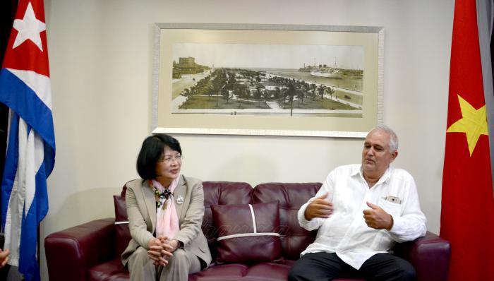 Dang Thi Ngoc Thinh, vicepresidenta de Vietnam.