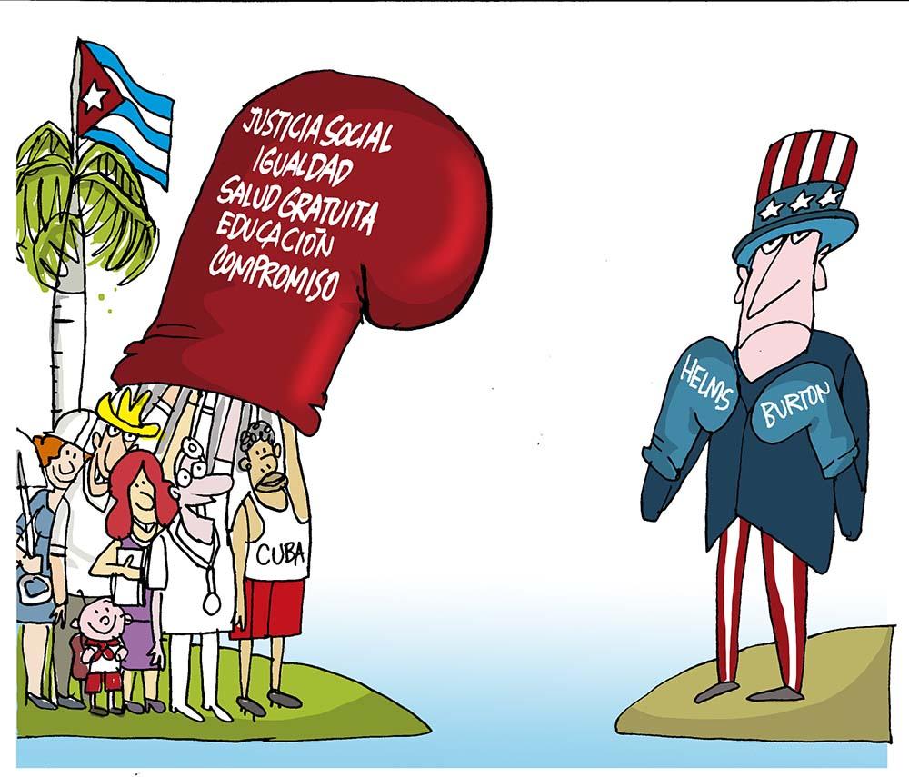 Convoca Presidencia de Cuba a denunciar el bloqueo de Estados Unidos contra la Isla