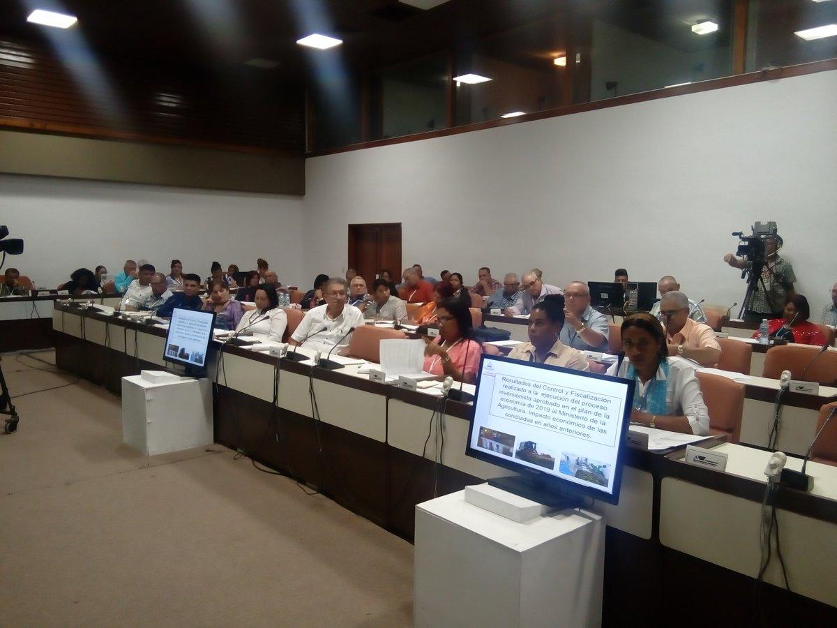 Debaten parlamentarios cubanos sobre las medidas adoptadas para alcanzar la soberanía alimentaria
