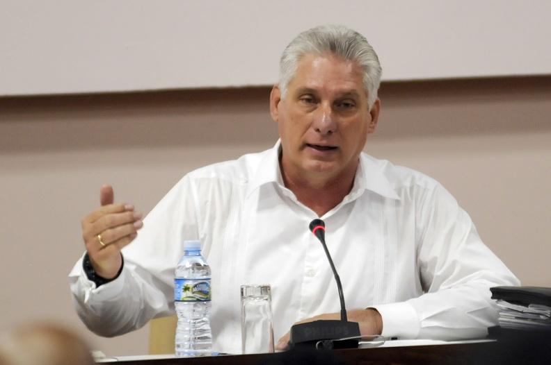 Resaltó Díaz-Canel importancia estratégica de la inversión extranjera para el desarrollo de Cuba