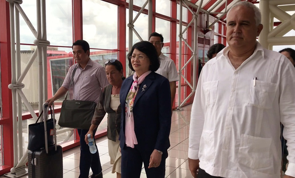 Vice President of Vietnam describes her visit to Cuba as fruitful and memorable