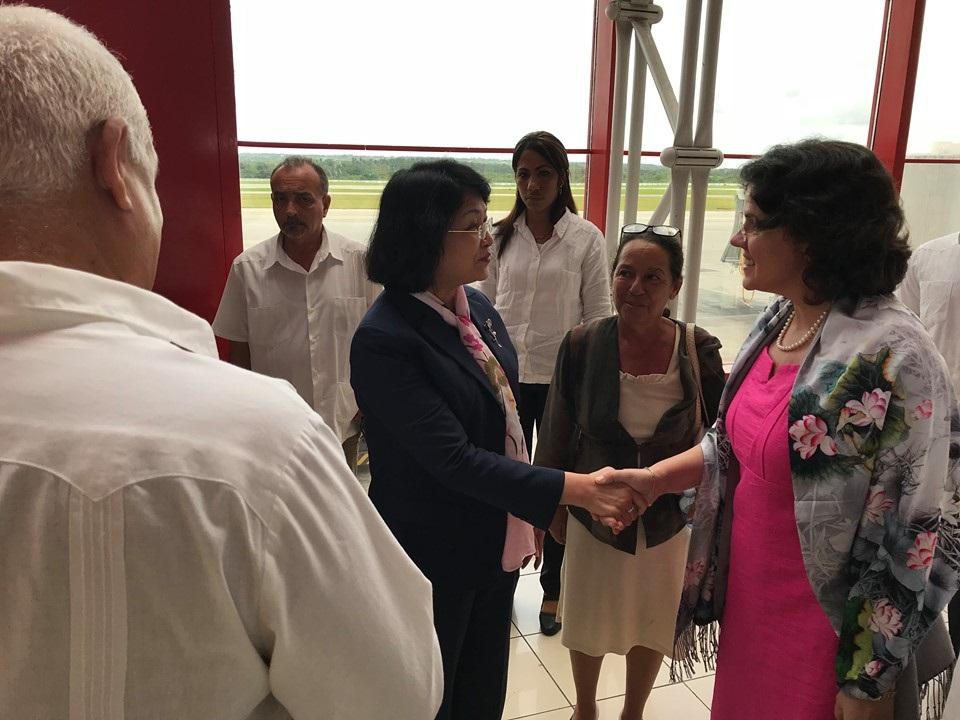 Calificó Vicepresidenta de Vietnam fructífera y memorable su visita oficial a Cuba