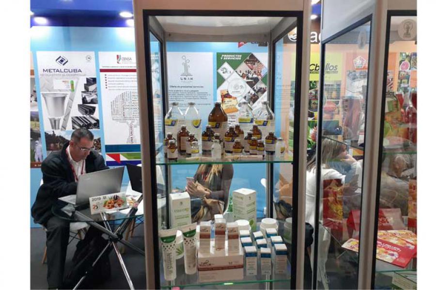 Presenta Cuba productos de Labiofam en feria Agroexpo en Bogotá, Colombia