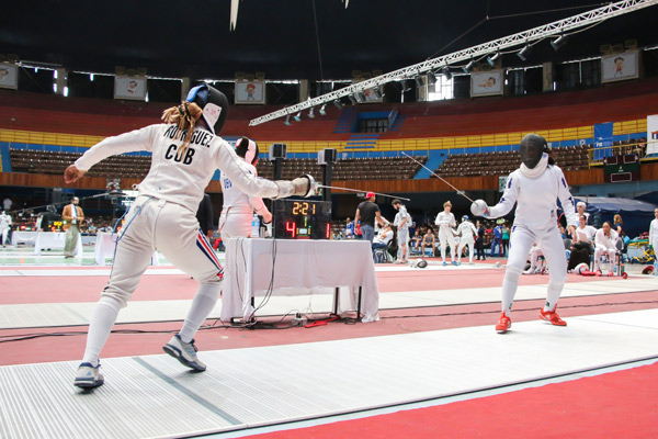 Good debut of Cubans at World Fencing Championships