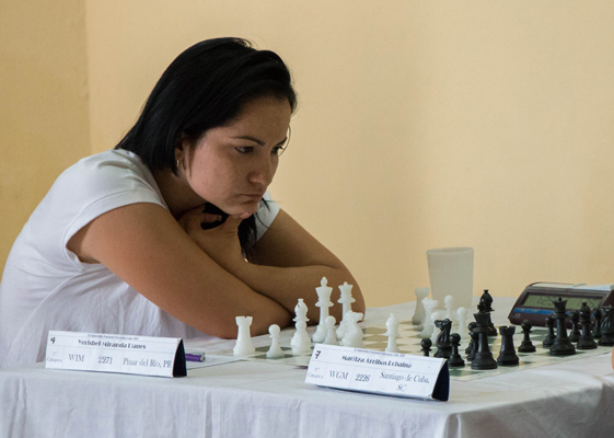 Cuban Miranda appears as leader of the Women´s American Zonal 2.3 Chess Tournament