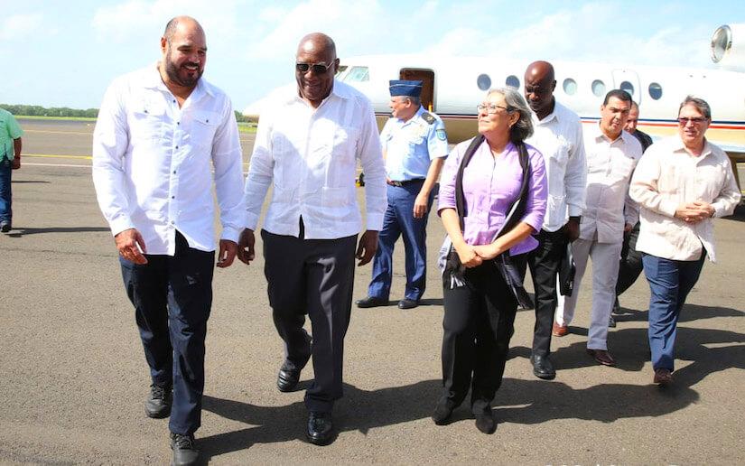 Arriba Salvador Valdés Mesa a Nicaragua para celebración Sandinista