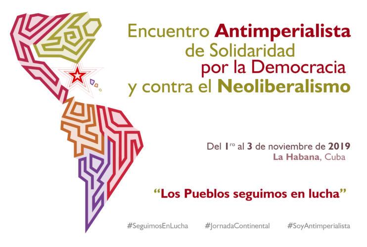 Encuentro de solidaridad con Cuba en momentos de rebeldía regional (+VIDEO)