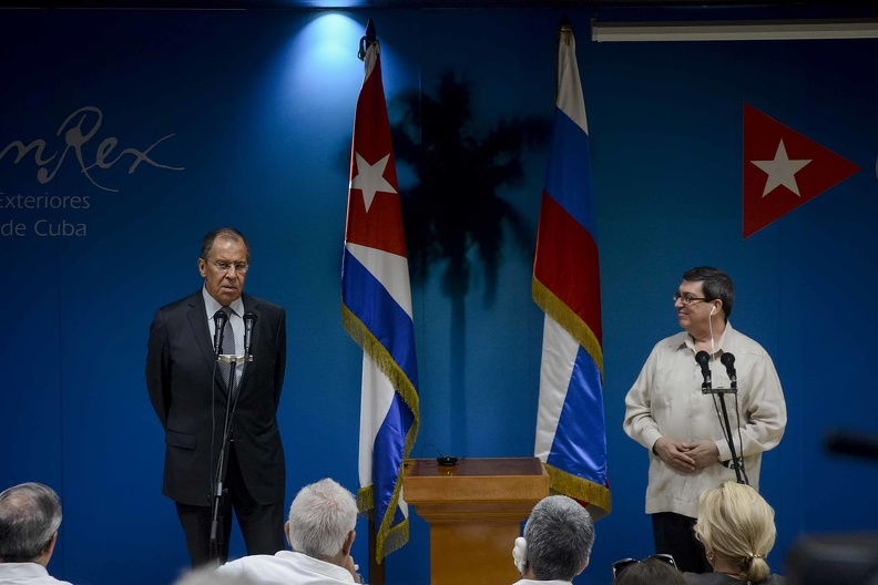 Cuba and Russia coordinate efforts against unilateral coercive measures
