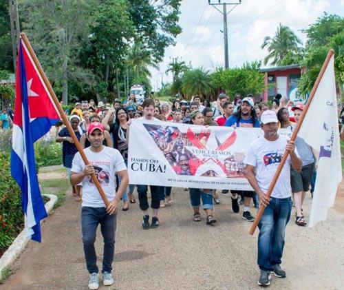 Destaca Brigada de Solidaridad Venceremos patriotismo de los cubanos
