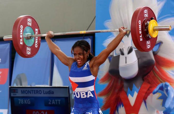 Ludia Montero quiere hacer historia en los Juegos Olímpicos de Tokio 2020, al igual que lo hizo hace dos años en el Campeonato Mundial de levantamiento de pesas de Pattaya, Tailandia, donde se convirtió en la primera mujer cubana pesista en conseguir una medalla.